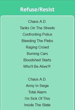 Sepultura Lyrics Top Hits apk screenshot