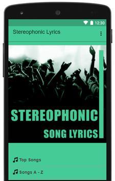 Stereophonic Lyrics Top Hits screenshot 1