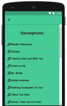 Stereophonic Lyrics Top Hits screenshot 2