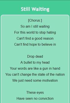 Sum 41 Lyrics screenshot 6
