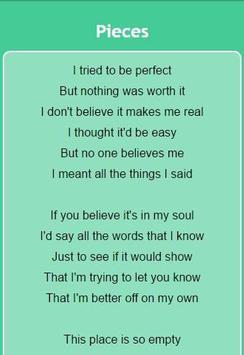 Sum 41 Lyrics screenshot 2