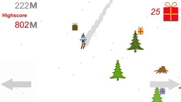 Santa Skiing adventure apk screenshot