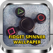 Cool Fidget Spinner Wallpaper icon