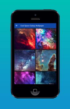 Cool Space Galaxy Wallpaper poster