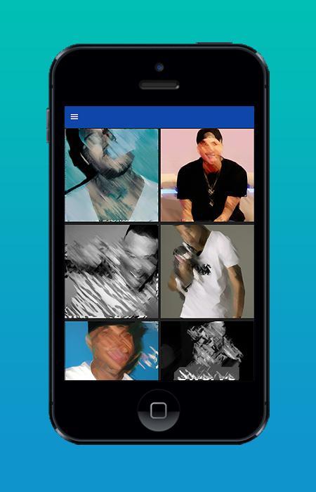 Chris Brown Wallpaper poster
