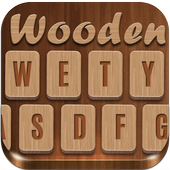 3D Wooden Skin Keyboard Theme icon