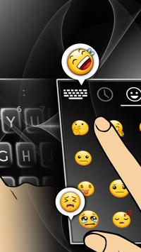 Sparkle Black and White Keyboard apk screenshot