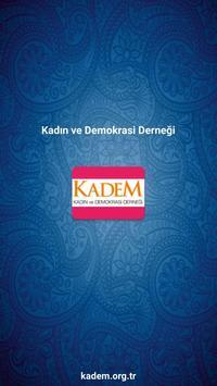 KADEM / KADIN VE DEMOKRASİ DER poster
