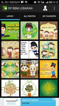 DP BBM Lebaran Idul Fitri poster