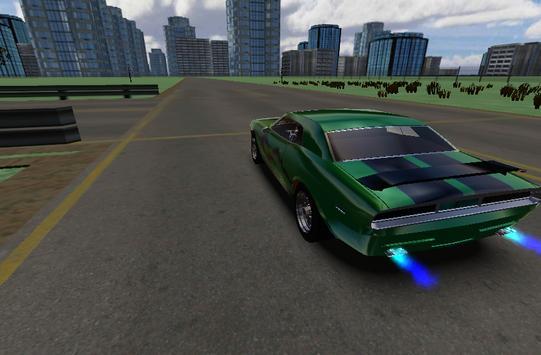 Classic City Car 3D screenshot 4