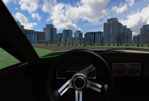 Classic City Car 3D screenshot 5