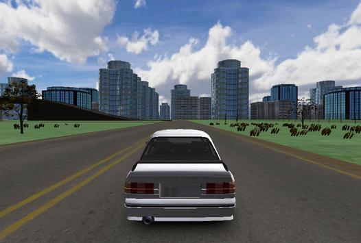 E30 City Simulation 3D poster