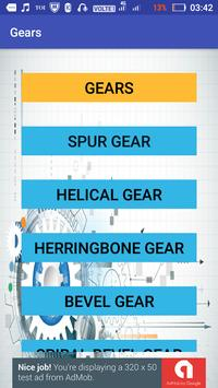 Mechanical Engineering Gears poster