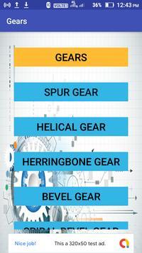 Mechanical Engineering Gears poster