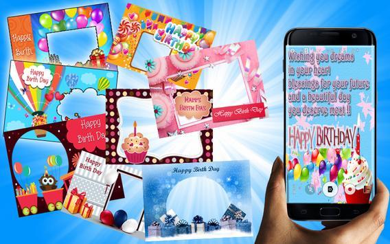 Birthday Wishes Photo Editor Screenshot 5