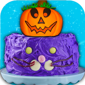 Halloween Cake Maker! Spooky Desserts Cooking Chef icon