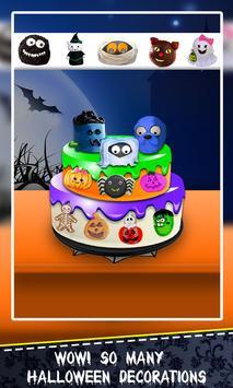 Halloween Cake Maker! Spooky Desserts Cooking Chef screenshot 3