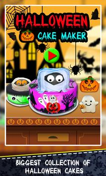 Halloween Cake Maker! Spooky Desserts Cooking Chef poster