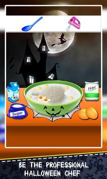 Halloween Cake Maker! Spooky Desserts Cooking Chef screenshot 9
