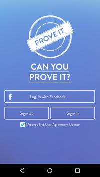 Prove It poster
