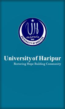 UOH LMS Portal, University of Haripur poster