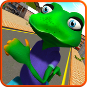 Stupid Frog Rampage 3D иконка