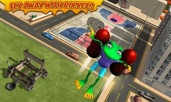 Stupid Frog Rampage 3D poster