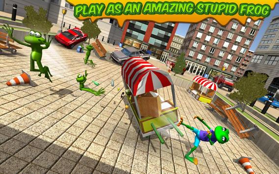 Stupid Frog Rampage 3D apk screenshot