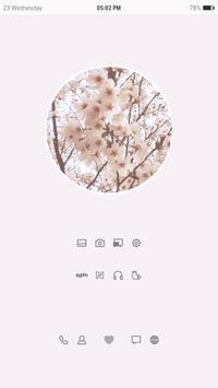 벚꽃 움짤 버즈런처 테마 (홈팩) poster