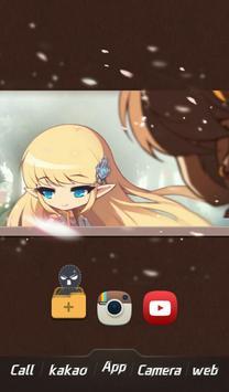 히어로즈 버즈런처 테마(홈팩)_메이플스토리 apk screenshot