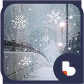 감성 눈꽃 버즈런처 테마(홈팩) icon