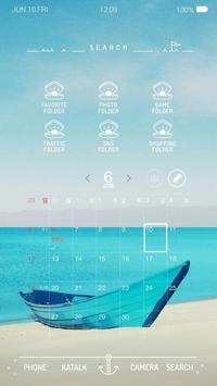 여름이야기 버즈런처 테마 (홈팩) apk screenshot