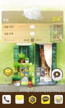 봄의 멜로디 카카오홈 테마 screenshot 1
