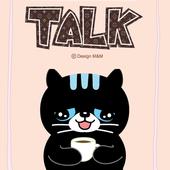 깜장고양이 까미_ 핑크카톡테마 (무료) icon