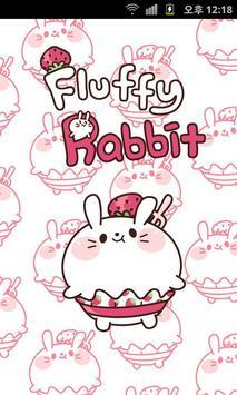Fluffy Rabbit Kakao Theme. poster