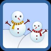 Snow Winter Kakao Talk Theme icon