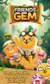 Friends Gem : Match 3 Puzzle Adventure poster