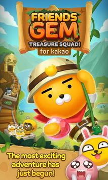 Friends Gem for kakao : Match 3 Puzzle Adventure poster