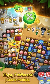 Friends Gem : Match 3 Puzzle Adventure screenshot 2