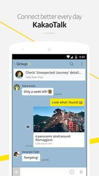 KakaoTalk : Free Chat & Calls скриншот 1