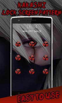 Kakashi Sharingan screen pattern screenshot 2