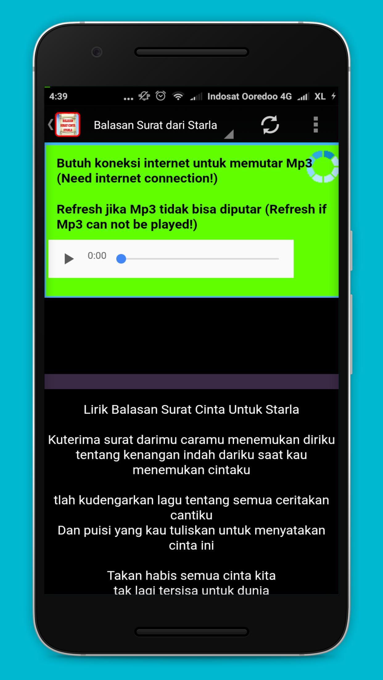 Lagu Surat Balasan Dari Starla For Android Apk Download