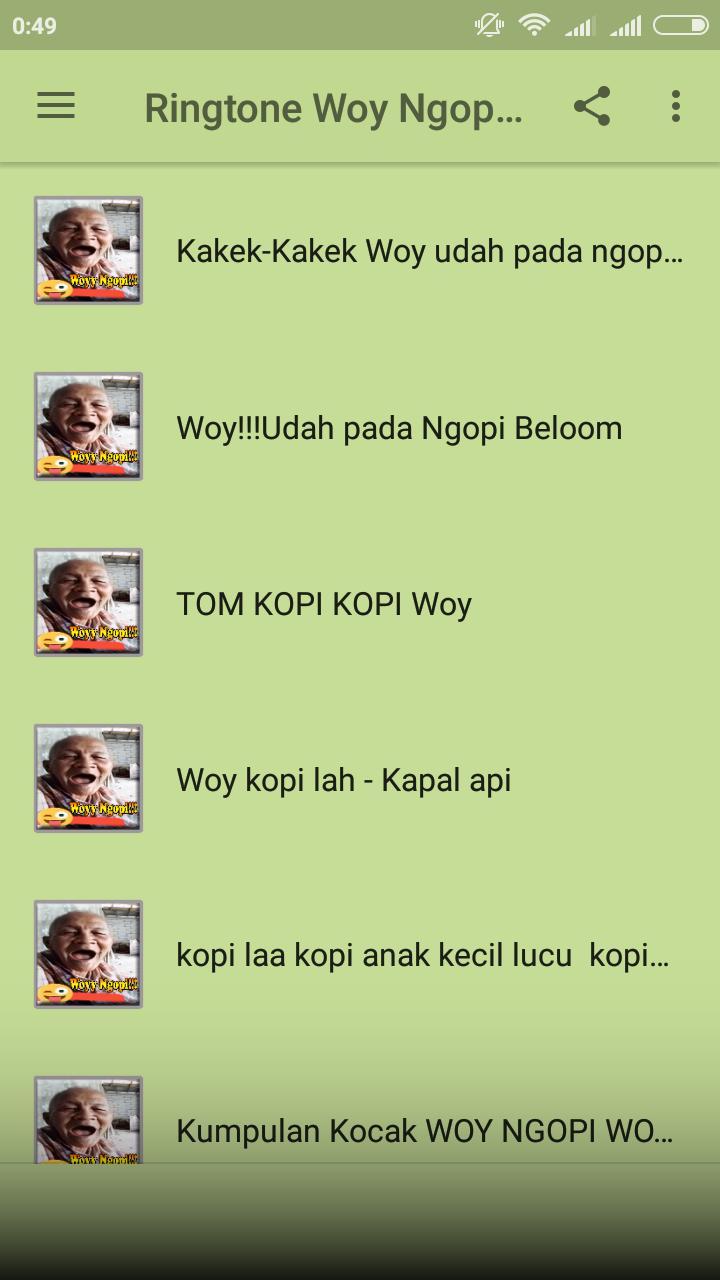 Ringtone Woy Ngopi Diem Diem Bae For Android APK Download