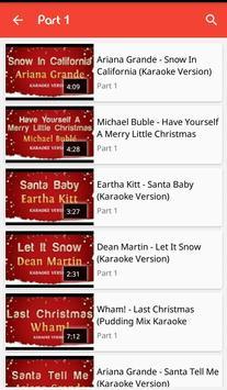 best christmas karaoke songs apk screenshot