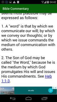 Bible Commentary screenshot 1