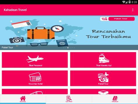 Kahadean Travel apk screenshot