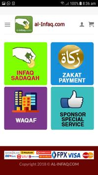 AL-INFAQ.COM poster