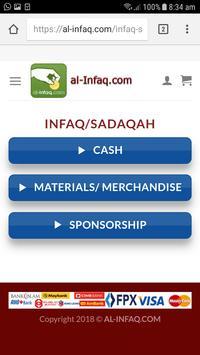 AL-INFAQ.COM screenshot 1