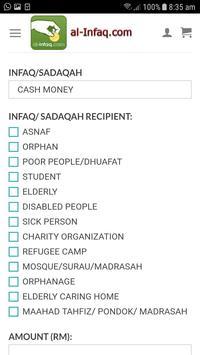 AL-INFAQ.COM screenshot 2
