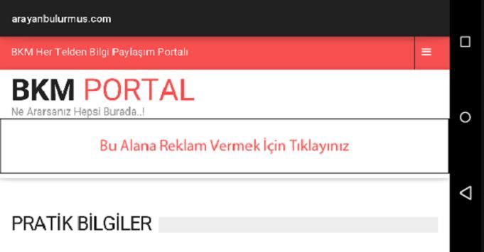 BKM Portal apk screenshot